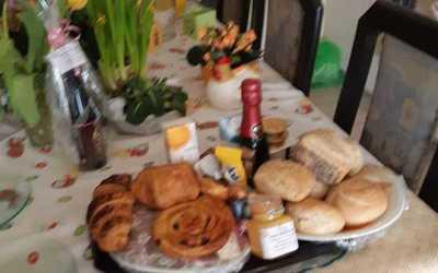 Ontbijt mand voor één persoon